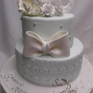 gâteau 60ieme anniversaire / 60th Wedding Anniversary
