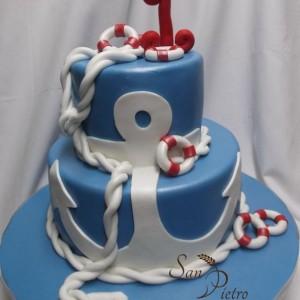 Thème gâteau nautique /Nautical cake theme