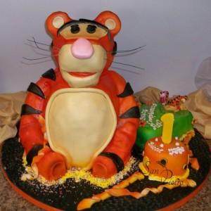 gâteau Tigger / Tigger cake