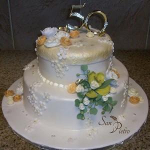 gâteau du 50e anniversaire orchidée / 50th Anniversary cake green orchide