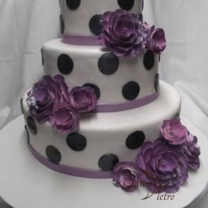 Point de polka gâteau / Polka Dot cake