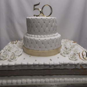 gâteau 50ieme Anniversire / 50th Wedding cake