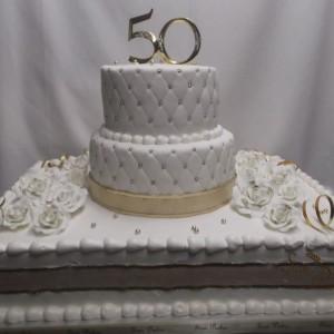 gâteau 50ieme Anniversire / 50th Wedding cake