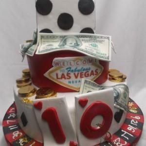 gâteau theme casino / Casino cake