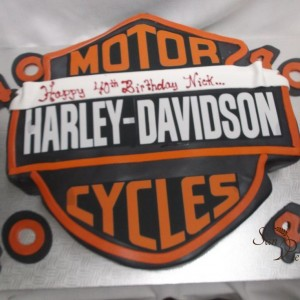 gâteau Harley Davidson / Harley Davidson for Nick