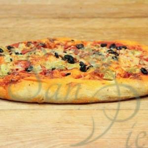 Pizza Foccacia Artichokes Mozzarella Olives