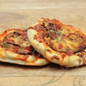 Pizzette Aubergines