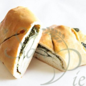 Spinach and Mozzarella Roll