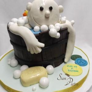 Gâteau baignoire bébé /Baby Bath Cake