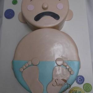 Bébé pleure gâteau / Baby Blues cake
