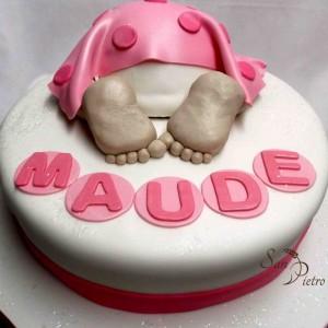 Bébé gâteau pour Maude / Baby cake for Maude