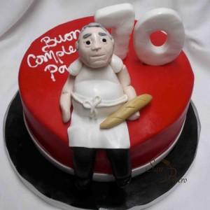 Un gâteau pour un boulanger étonnant / A cake for an amazing baker