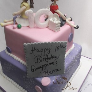 gâteau pour les jumeaux / Birthday cake for Twins