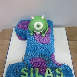 1st Birthday Monster Cake