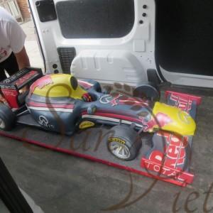 Redbull F1 Car Cake