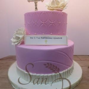 Baptsim CAke for Ginevra