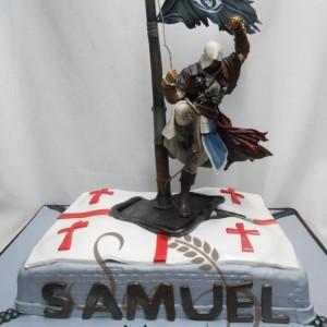 Goth Pirate Cake
