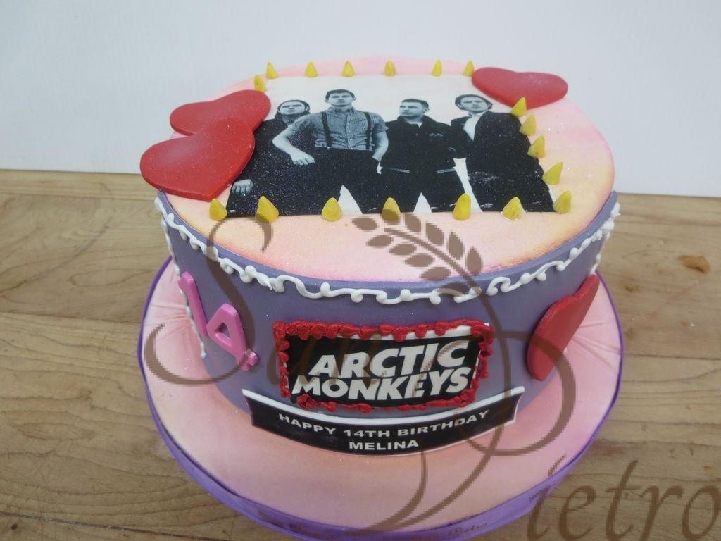 Arctic Monkeys Cakes