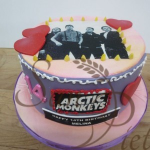 Arctic Monkeys Cake
