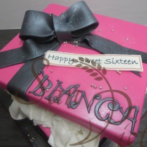 Birthday Box Cake