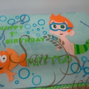 1st Birthday Bubble Guppies