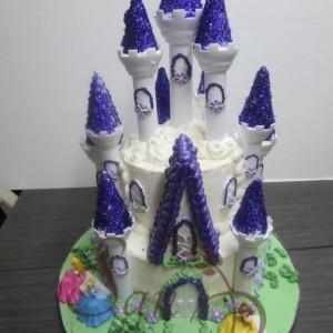 Castle Buttercream Cake