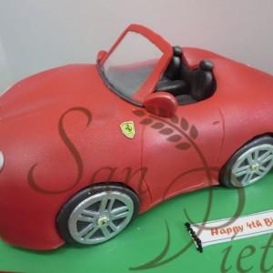 Ferrari vintage Cake