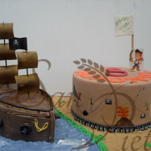 Jake the Pirate Cake for Alfonso