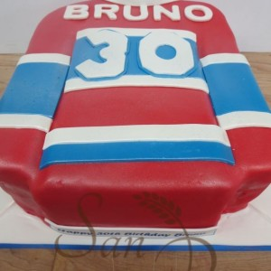 Montreal Canadiens Shirt Cake