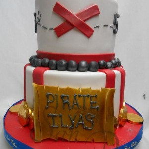Ilyas The Pirate Cake