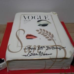 Vogue Mag Cake