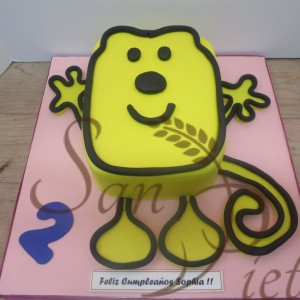 wow wow wubzy Cake