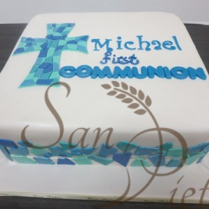Communion for Michael Cake