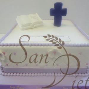 Cristina Communion Cake