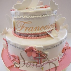 Confirmed in Faith Francesca Cake