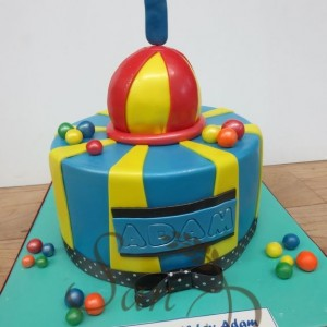 First Birthday Adam Cake