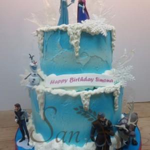 Frozen Simona Cake