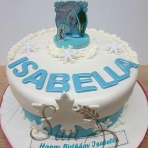 Frozen Isabella Cake