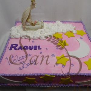 Moon and Stars baby cake