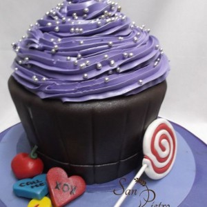 gâteau cupcake chocolate xox Chcolate cupcake xox