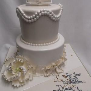 gâteau communion pour garçon et fille / Communion cake boy and girl