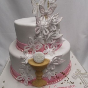 gâteau communion pour Cristina / Communion cake for Cristina