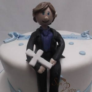 gâteau communion pour Joseph / Communion cake for Joseph