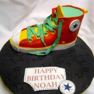 gâeau chaussures converse / Converse Shoe cake
