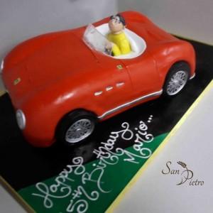 gâteau Ferrari / Vintage Ferrari cake