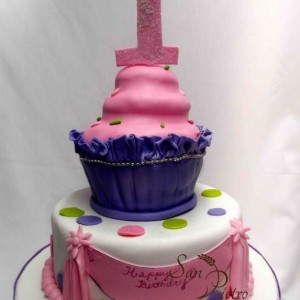 gâteau Cupcake / Cupcake cake