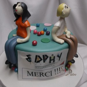 gâteau de Camp pour Edphy Internationale / Character cake for Edphy International