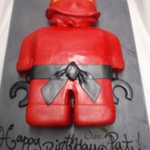 gâteau Ninjago pour Pat / Ninjago cake for Pat