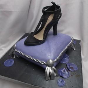 salsa gâteau de chaussures / Salsa shoe cake