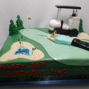 gâteau de golf pour Pino / Golf cake for Pino